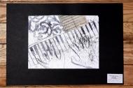 2. kategorie – 1. místo, kolektiv (ZŠ Chabařovice)  - Klavíristka – cyklus prací k poctě paní Iréne Némirovské a Alice Herz-Sommerové 2