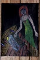 2. kategorie – 5. místo, Sára Köhnleinová (13 let, Gymnázium Jaroslava Vrchlického Klatovy) - Láska k malování