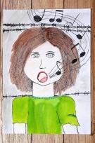 2. kategorie – 8. místo, Nela Grodová (12 let, ZŠ Alšova Kopřivnice) - Písnička mě uklidnila