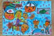 1. kategorie - 1. místo - Petr Vykrut, 7 let - ZŠ a MŠ Karla Svolinského Kunčice pod Ondřejníkem - Rodiče, já dnes vzpomínám na hrůzy Terezína