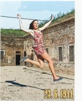 3. katogie - 8. místo - Jan Vlček, 18 let - Gymnázium U Balvanu Jablonec nad Nisou - Propagandistické plakáty k 23. 6. 1944 6