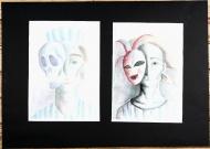Maska, kterou nosím - Klára-Marie Bláhová (16 let, Vyšší odborná škola oděvního návrhářství a střední průmyslová škola oděvní Praha), 3. kategorie – Cena Erika Poláka