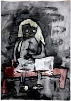 2. místo: Tereza Fialová, 8 let, ZŠ a MŠ Chrášťany, název: I dřevěné lavice poslouží jako školní lavice