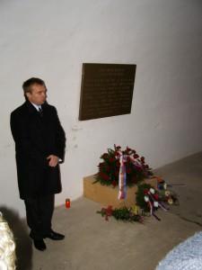 Pietní akt u příležitosti narození Milady Horákové 2010